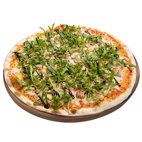 Пицца Лосось с креветками