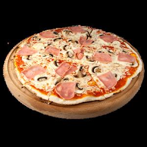 пицца ветчина с шампиньонами